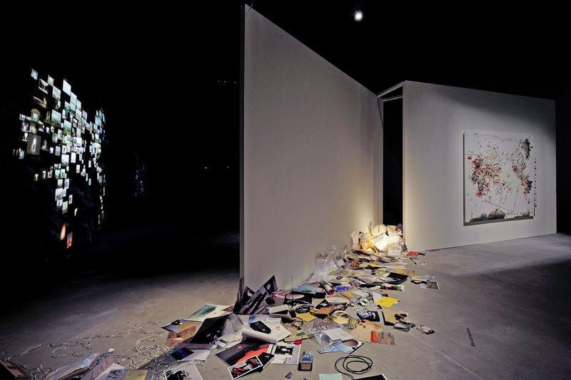 1_Ausstellungsansicht Kunsthalle Krems_Nin Brudermann_Twelve O_Clock in London 2010_Manfred Horvath