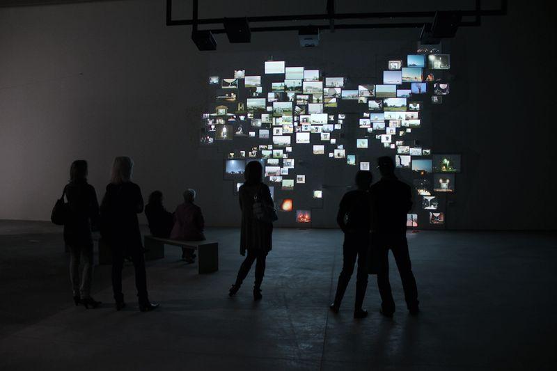 4_Ausstellungsansicht Kunsthalle Krems_Nin Brudermann_Twelve O_Clock in London 2010_Markus_Wittmann