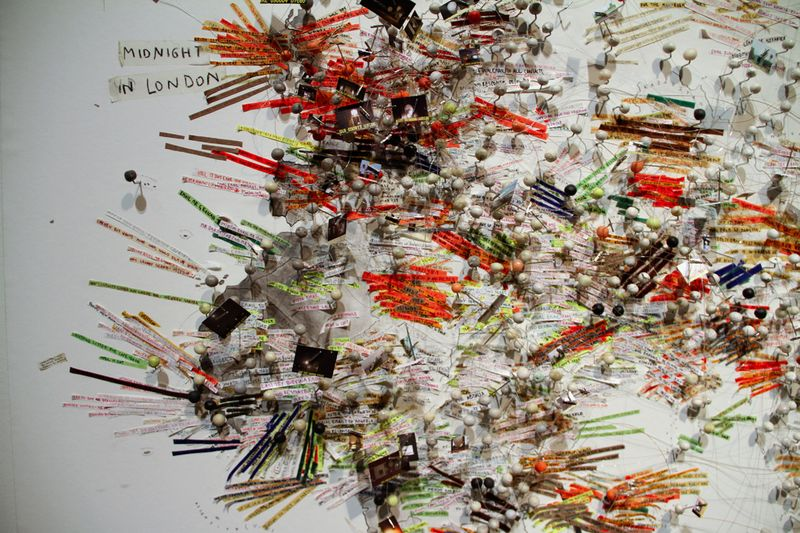 2_Ausstellungsansicht Kunsthalle Krems_Nin Brudermann_Twelve O_Clock in London 2010_Markus_Wittmann_1