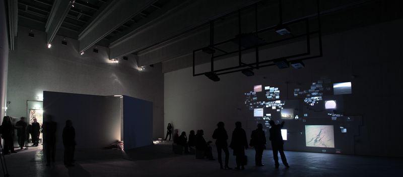 5_Ausstellungsansicht Kunsthalle Krems_Nin Brudermann_Twelve O_Clock in London 2010_Markus_Wittmann