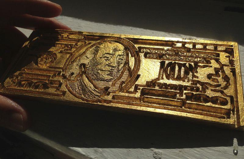 Superdollar gold plated